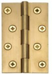 "Heritage Brass PR77-100-NB 3""X1 5/8"" Ext Hinge (0911 3SC) Natural Brass Finish"