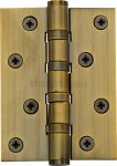 "Heritage Brass HG99-400-AT Hinge Brass with Ball Bearing 4"" x 3"" Antique Finish"