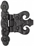 The Tudor Collection TC425 Coronet Hinge Black Iron