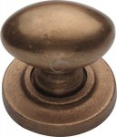 M.Marcus RBL179 38 Solid Bronze Cabinet Knob Oval Design 38mm