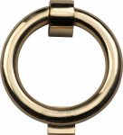 Heritage Brass K1270-PB Ring Knocker Polished Brass finish