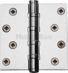 "Heritage Brass HG99-405-PC Hinge Brass with Ball Bearing 4"" x 4"" Polished Chrome finish"