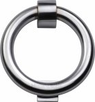 Heritage Brass K1270-SC Ring Knocker Satin Chrome finish