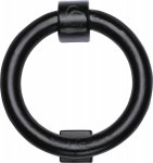 M.Marcus FB339 Black Iron Rustic Ring Knocker