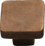 M.Marcus RBL3674 32 Solid Bronze Cabinet Knob Square Design 32mm