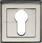 Heritage Brass DEC7020-PNF Euro Profile Cylinder Escutcheon Polished Nickel finish