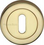 Heritage Brass V4000-PB Key Escutcheon Polished Brass finish