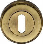 Heritage Brass V5000-AT Key Escutcheon Antique finish