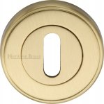 Heritage Brass V5000-SB Key Escutcheon Satin Brass finish