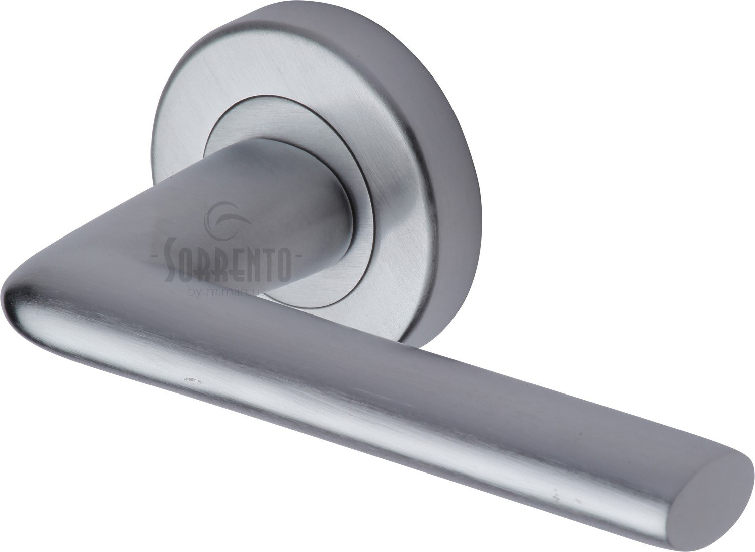 Sorrento Door Handle Lever Latch on Round Rose Lena Design SC-2352