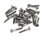 "From The Anvil 33424 Pewter 6 x 1"" Countersunk Screws (25) - Pewter"