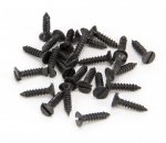 From The Anvil 33402 Black 4 x 1/2'' Countersunk Screws (25) - Black