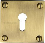 Heritage Brass BAU1556-AT Keyhole Escutcheon Antique finish