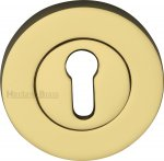 Heritage Brass RS2000-PB Key Escutcheon Polished Brass finish