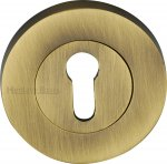 Heritage Brass RS2000-AT Key Escutcheon Antique finish