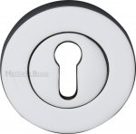 Heritage Brass RS2000-PC Key Escutcheon Polished Chrome finish