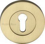 Heritage Brass RS2000-SB Key Escutcheon Satin Brass finish