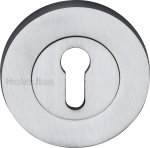Heritage Brass RS2000-SC Key Escutcheon Satin Chrome finish