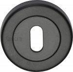 Sorrento SC-0191-BLK Keyhole Escutcheon Matt Black finish