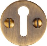 Heritage Brass V1010-AT Keyhole Escutcheon Antique finish