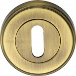 Heritage Brass ERD7000-AT Key Escutcheon Antique finish