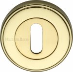 Heritage Brass ERD7000-PB Key Escutcheon Polished Brass finish