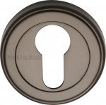 Heritage Brass ERD7020-MB Euro Profile Cylinder Escutcheon Matt Bronze finish
