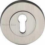 Heritage Brass RS2000-SN Key Escutcheon Satin Nickel finish