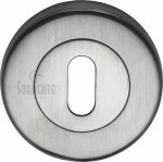 Sorrento SC-0191-SC Keyhole Escutcheon Satin Chrome finish