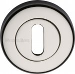 Heritage Brass V4000-PNF Key Escutcheon Polished Nickel finish