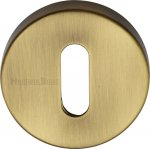 Heritage Brass V4007-AT Key Escutcheon Antique finish