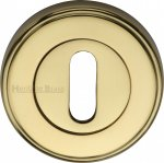 Heritage Brass V5000-PB Key Escutcheon Polished Brass finish