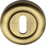Heritage Brass V6722-AT Key Escutcheon Antique finish