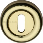 Heritage Brass V6722-PB Key Escutcheon Polished Brass finish