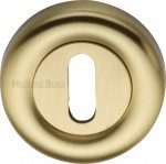 Heritage Brass V6722-SB Key Escutcheon Satin Brass finish