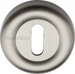 Heritage Brass V6722-SN Key Escutcheon Satin Nickel finish