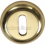 Heritage Brass V4002-PB Key Escutcheon Polished Brass Finish