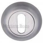 Heritage Brass V4002-SC Key Escutcheon Satin Chrome Finish