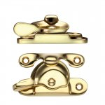 Fulton & Bray FB111 Fitch Fastener Polished Brass