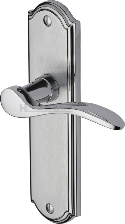 Heritage Brass How1310 Ap Door Handle Lever Latch Howard Design Apollo Finish Hardware And Handles