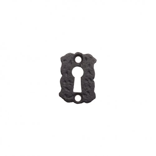"Foxcote Foundries FF02 Floral Escutcheon - Standard - 2"" Polished Brass"