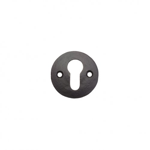 "Foxcote Foundries FF08 Escutcheon - Euro - 2"" Polished Brass"