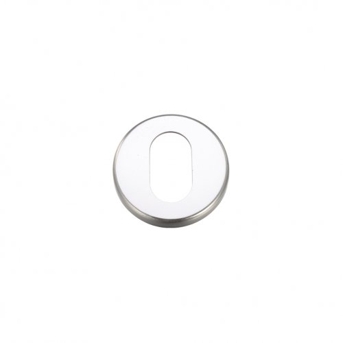 Zoo Hardware ZCA003SA Escutcheons Oval Profile 51.5mm Satin Aluminium