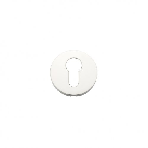 Zoo Hardware ZCS001PS Escutcheon Euro Profile - 52mm Rose Grade 304 Polished Stainless Steel
