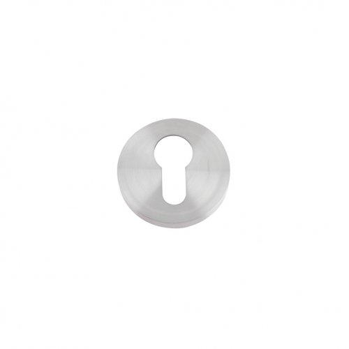 Zoo Hardware ZCS001SS Euro Profile Escutcheon - 52mm Rose - Grade 304 Stainless Steel