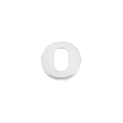 Zoo Hardware ZCS003PS Escutcheon Oval Profile - 52mm Rose Grade 304 Polished Stainless Steel