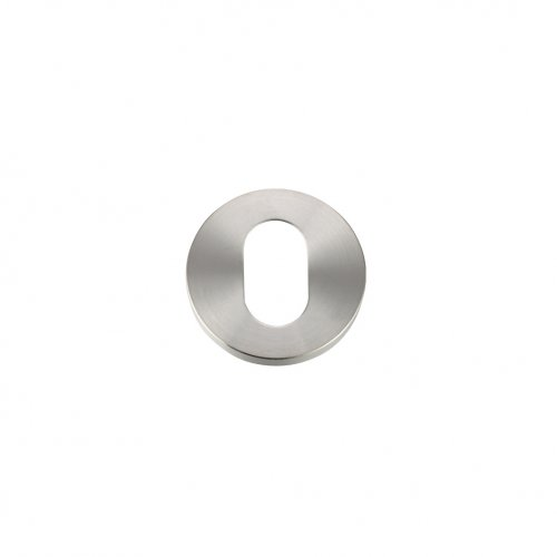 Zoo Hardware ZCS003SS Escutcheon Oval Profile - 52mm Rose - Grade 304 Stainless Steel