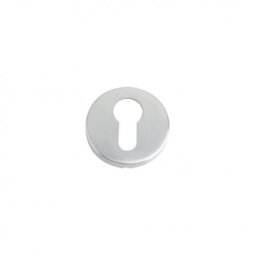 Zoo Hardware ZCS2001SS Euro Profile Escutcheon - 52mm Dia - Grade 201 Stainless Steel