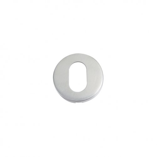 Zoo Hardware ZCS2003SS Oval Profile Escutcheon - 52mm Dia - Grade 201 Stainless Steel