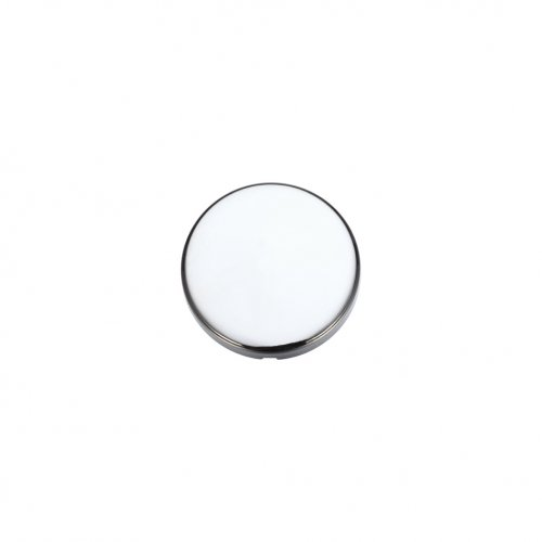 Zoo Hardware ZCZ000CP Blank Profile Escutcheon 52mm dia Polished Chrome